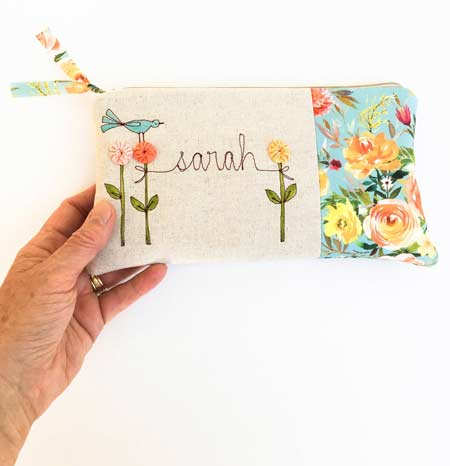Personalized Clutch Purse | baby-shower-hostess-gift-ideas