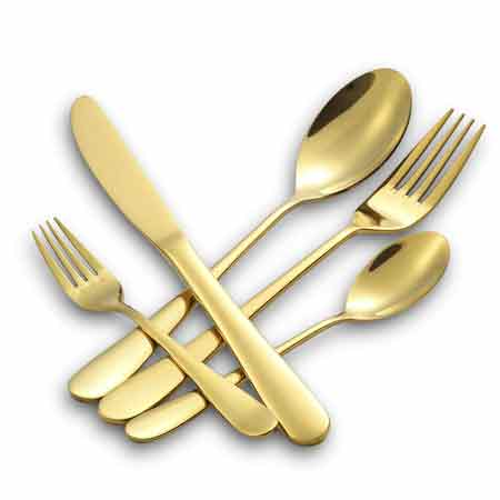 best-gifts-for-taurus-gold-plated-silverware