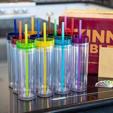 Employee Appreciation Gifts: Colorful Drinking Tumblers