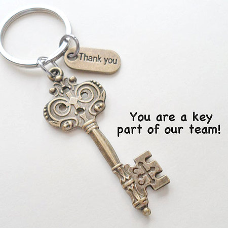 Employee Appreciation Gifts: Key KeyChain