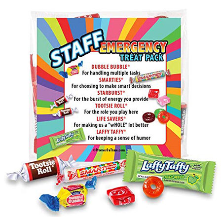 Employee Appreciation Gifts: Staff Emergency Treat Pack
