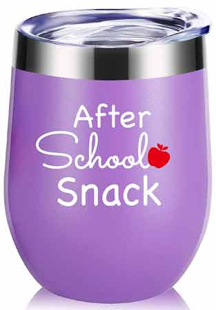 After School Snack Wine Tumbler | End-of-Year-Ideas-Gifts-For-Teachers