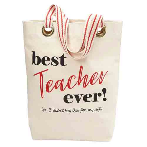 Best Teacher Ever Tote Bag | End-of-Year-Ideas-Gifts-For-Teachers