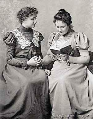 Keller and Anne Sullivan   Helen Keller Biography