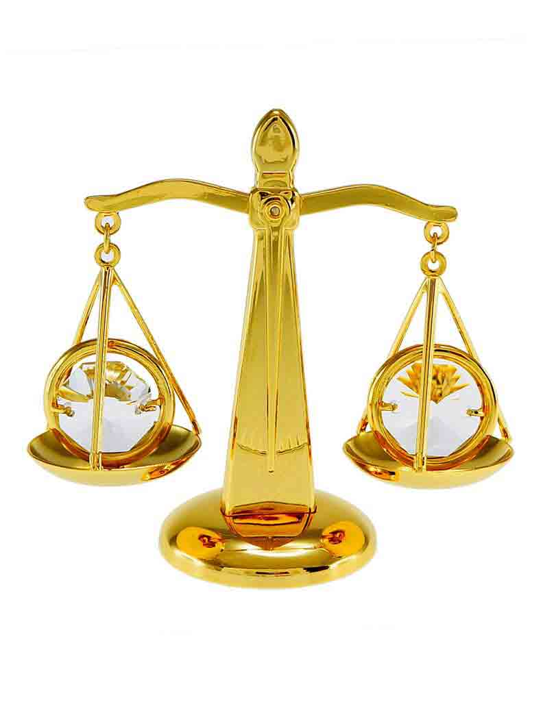 best-gifts-for-libra-scales-of-justice-ornament