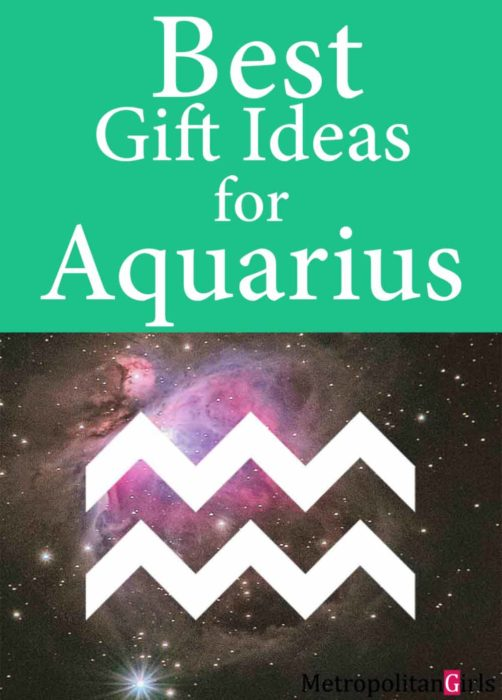 Find out what gifts do the water bearers love. Aquarius gift guide - gift ideas for Aquarian men and women.