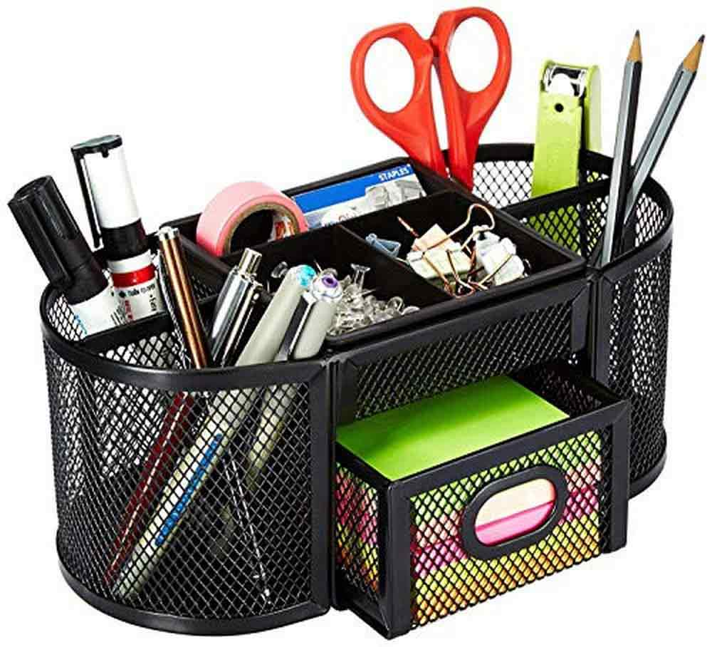 gifts-for-capricorn-meshed-table-organizer