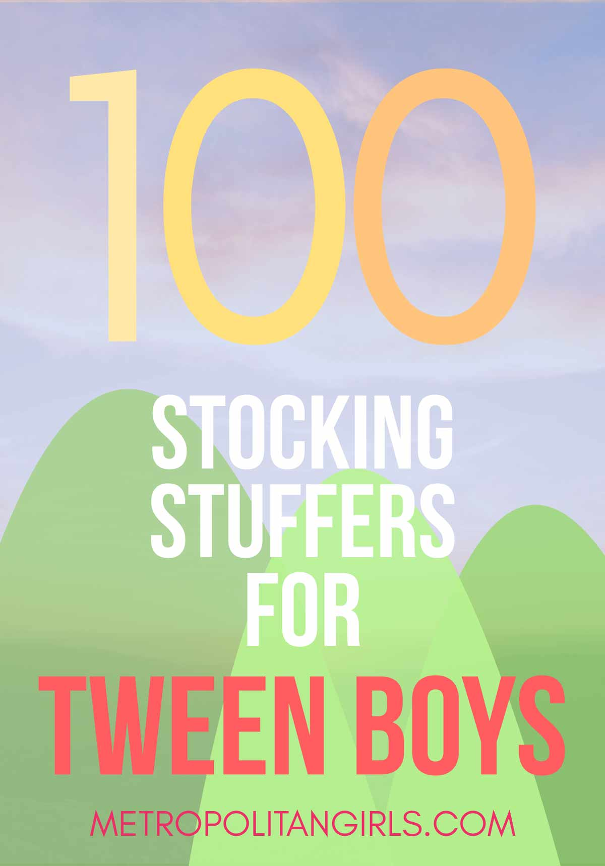 100 Chrismas Stocking Stuffer Ideas for Tween Boys