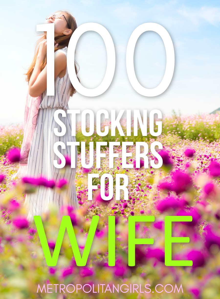 100 Best Christmas Stocking Stuffers - Cool Ideas for Your Wife