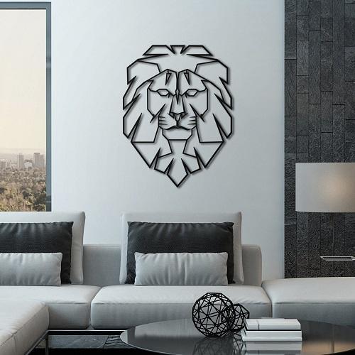 Leo Metal Art
