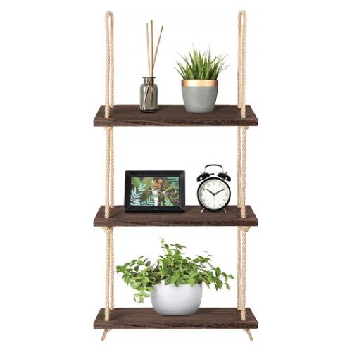 Wood Hanging Shelves