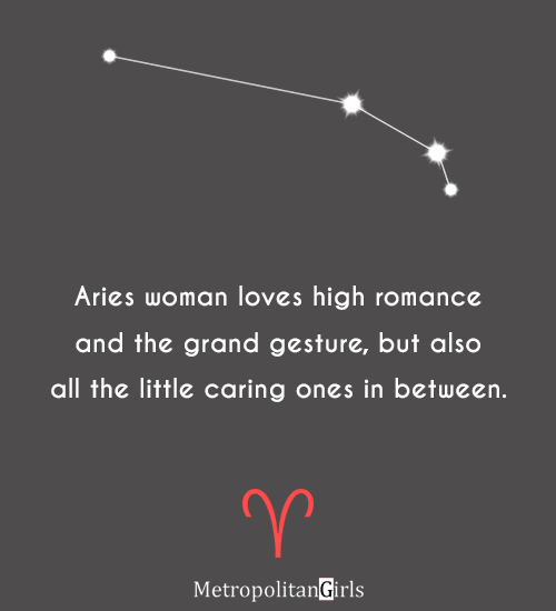 aries woman love quote