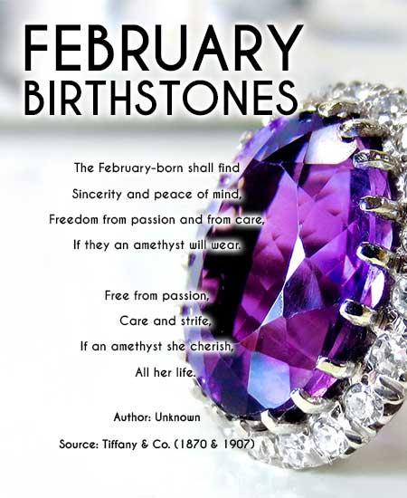february birthstones poem about amethyst