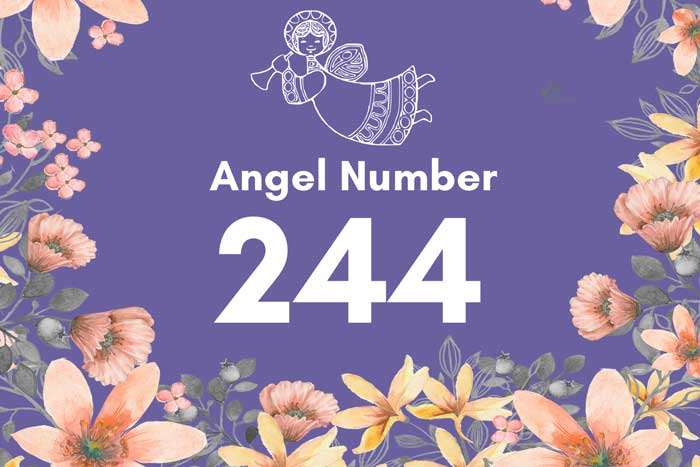 angel number 244 meaning