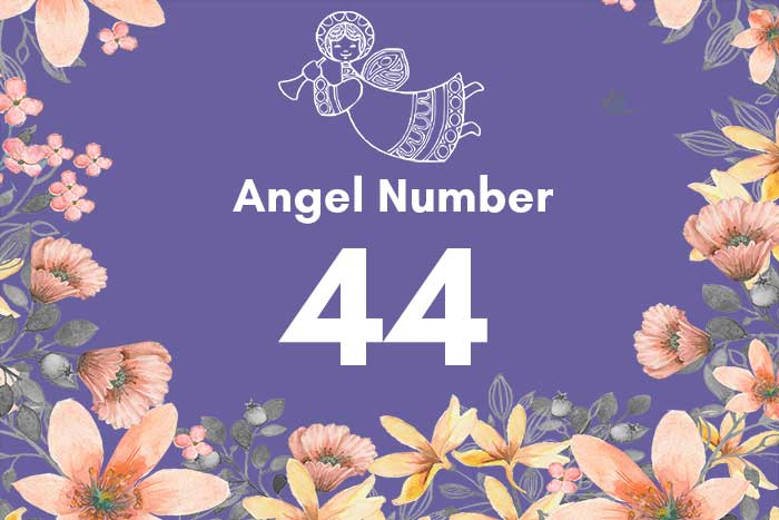 angel number 44 meaning and interpretation