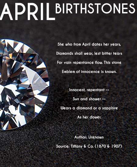 april birthstone poem