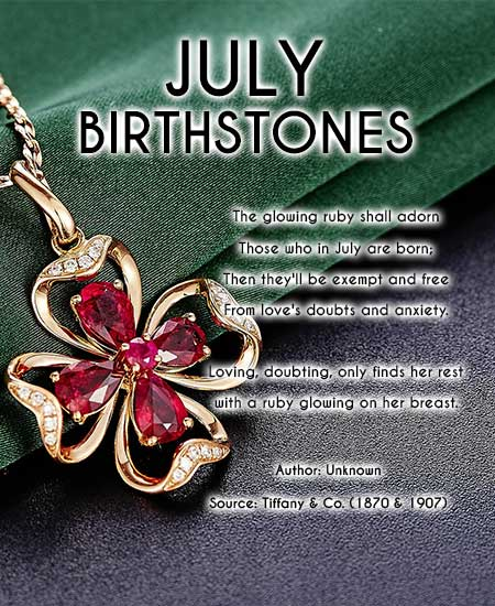 july birthstone poem - ruby