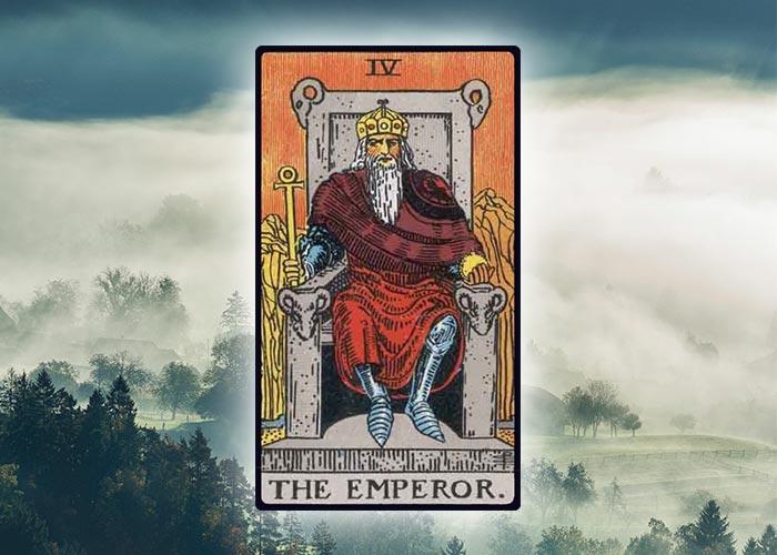 the emperor - aries tarot